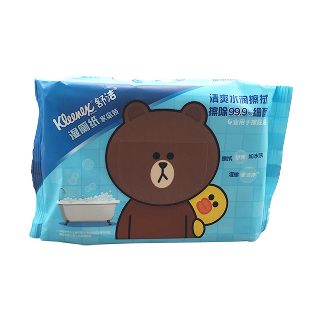 OEM 100% profesional BiodegradableToilet Wet Wipes